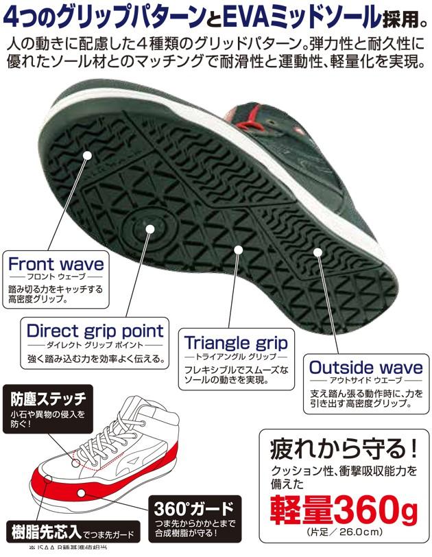 AIRWALK|エアーウォーク|安全靴|AW-660 AW-670