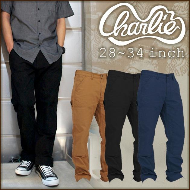 Charlie works|チャーリーワークス|通年作業服|ダブルニーペインターパンツ CHP001