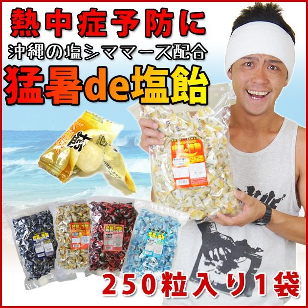 オークラ製菓| 猛暑de塩飴250粒...