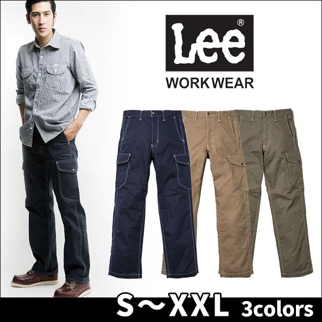 Lee|リー|通年作業服|メンズカーゴパンツ LWP66004