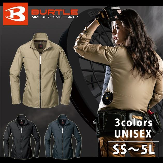 BURTLE|バートル|春夏作業服|空調服|エアークラフトジャケット AC1011 暑さ対策 熱中症 かっこいい バッテリー