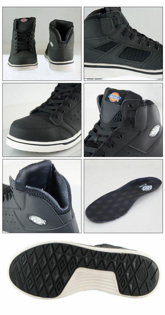 Dickies|ディッキーズ|安全靴|ハイカット安全スニーカー D-3308