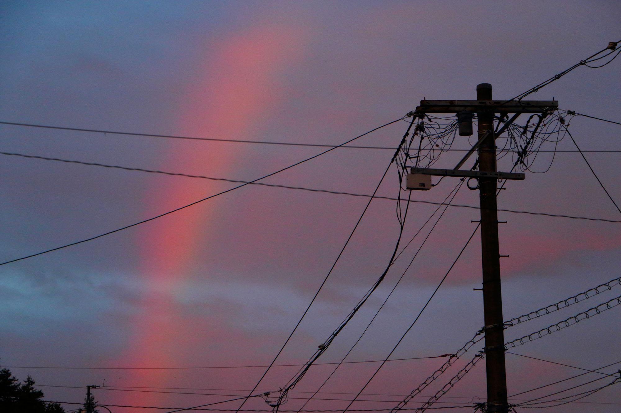 6月22日、赤い虹を見た