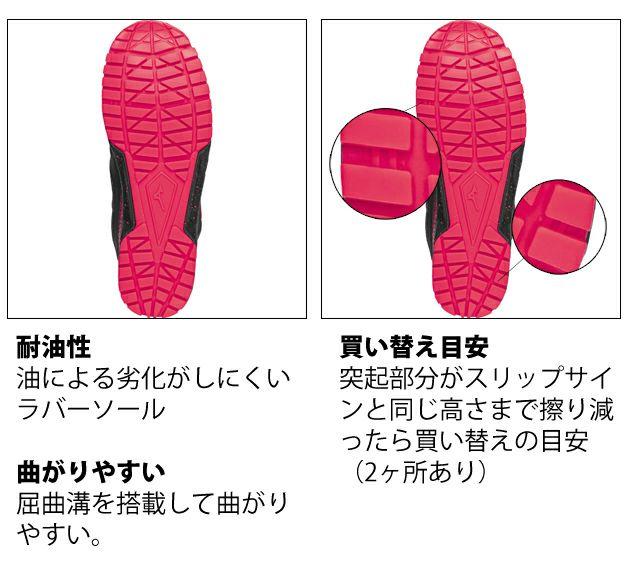 ミズノ|安全靴|プロテクティブスニーカー オールマイティES31L F1GA1903