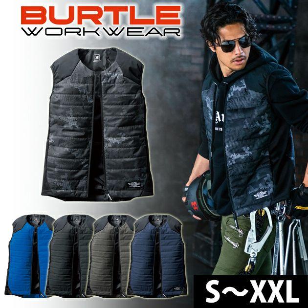 BURTLE|バートル|電熱ウェア|電熱ベスト|軽防寒ベスト(ユニセックス) 3214