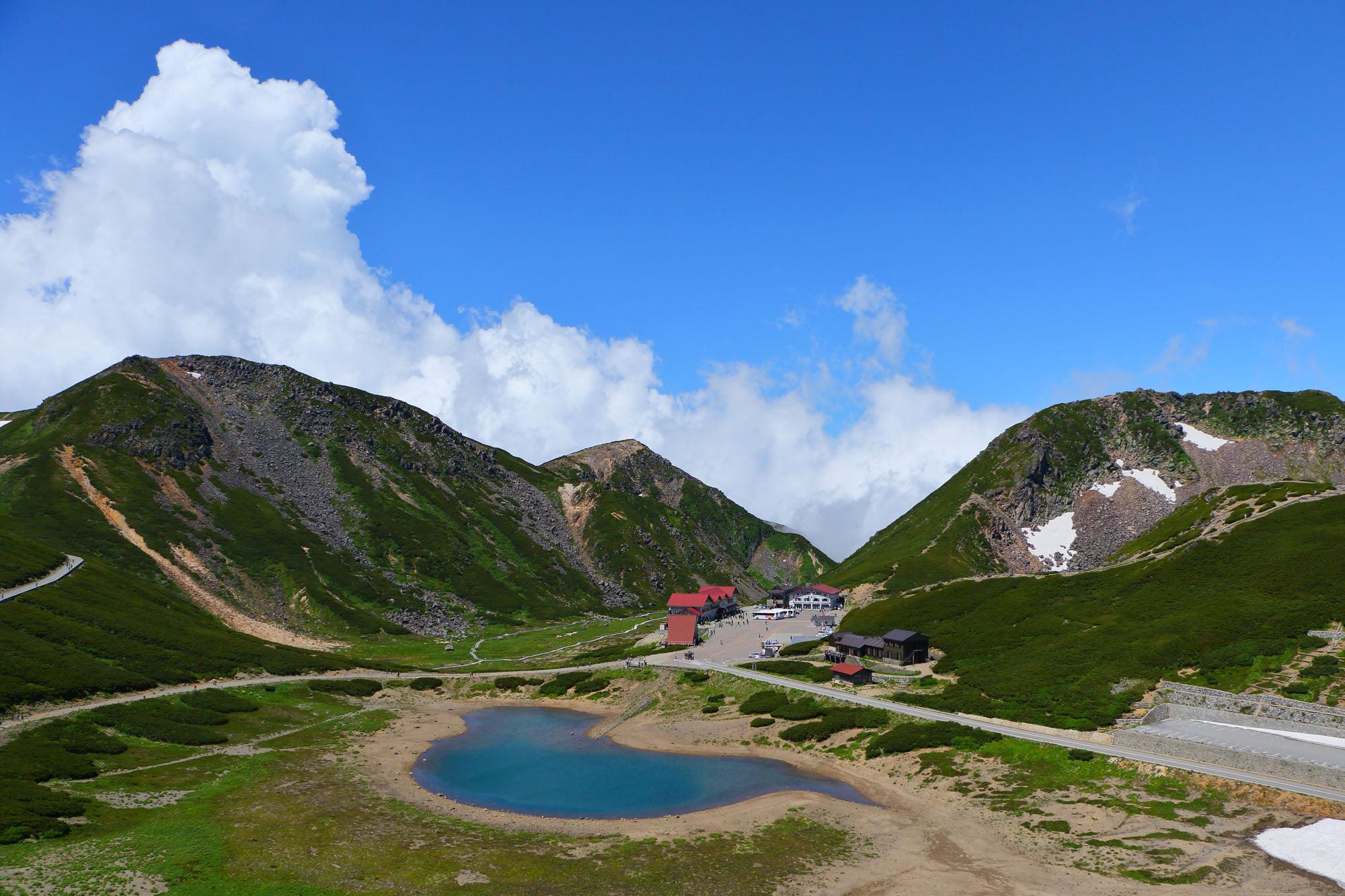 大黒岳からの眺め