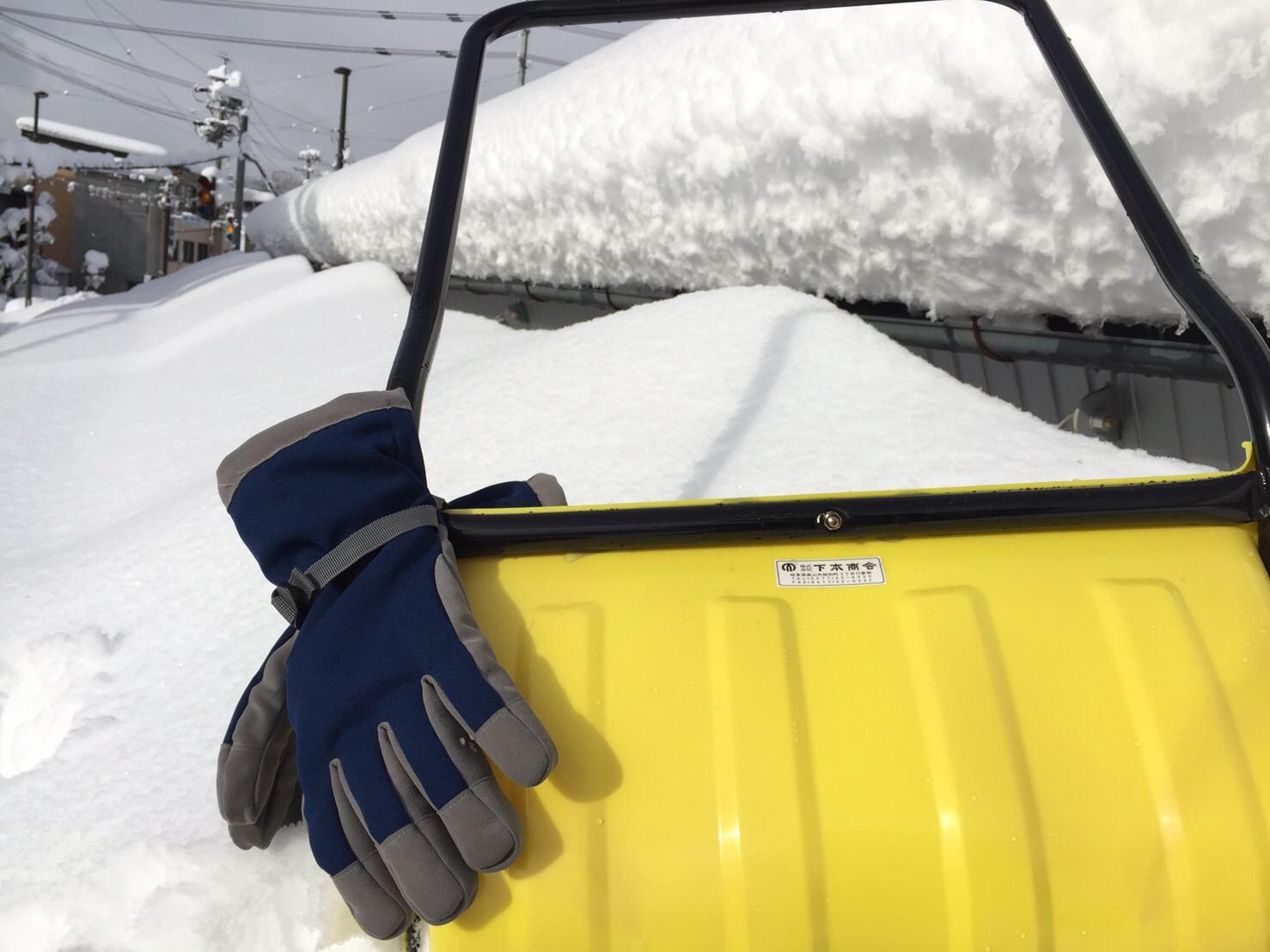 青井商店|防寒手袋|あったか手袋|雪かき|雪下ろし|寒い
