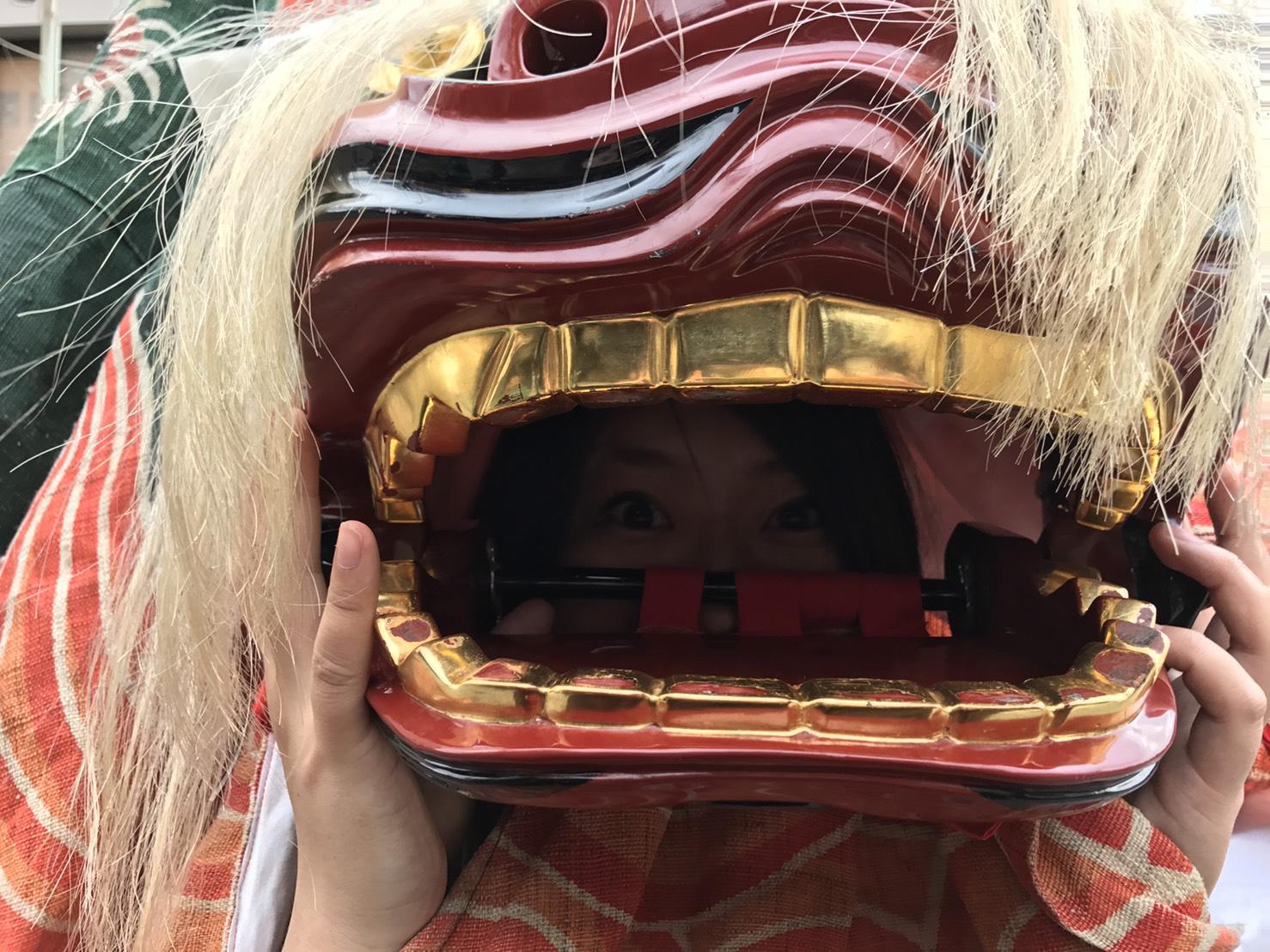 獅子 獅子組 笛 太鼓 ユネスコ 高山祭 飛騨高山 春祭り 秋祭り