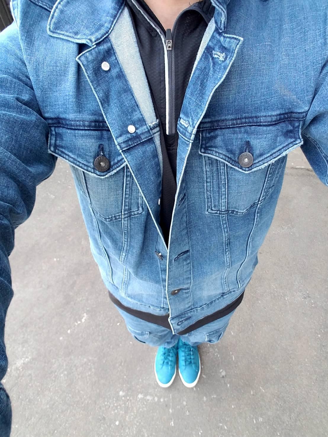寅壱|春夏作業服|TORAibe 3RD JACKET 1800-124 TORAnsformed CARGO PANTS 1800-219デニム セットアップ 作業着