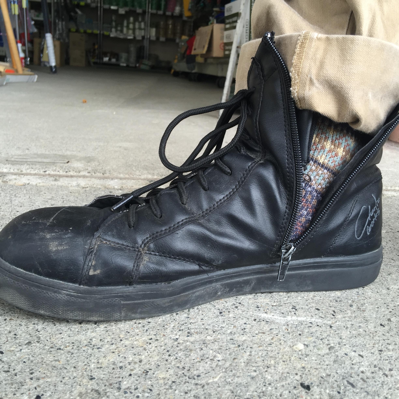 チャ―リー安全靴2か月半着用