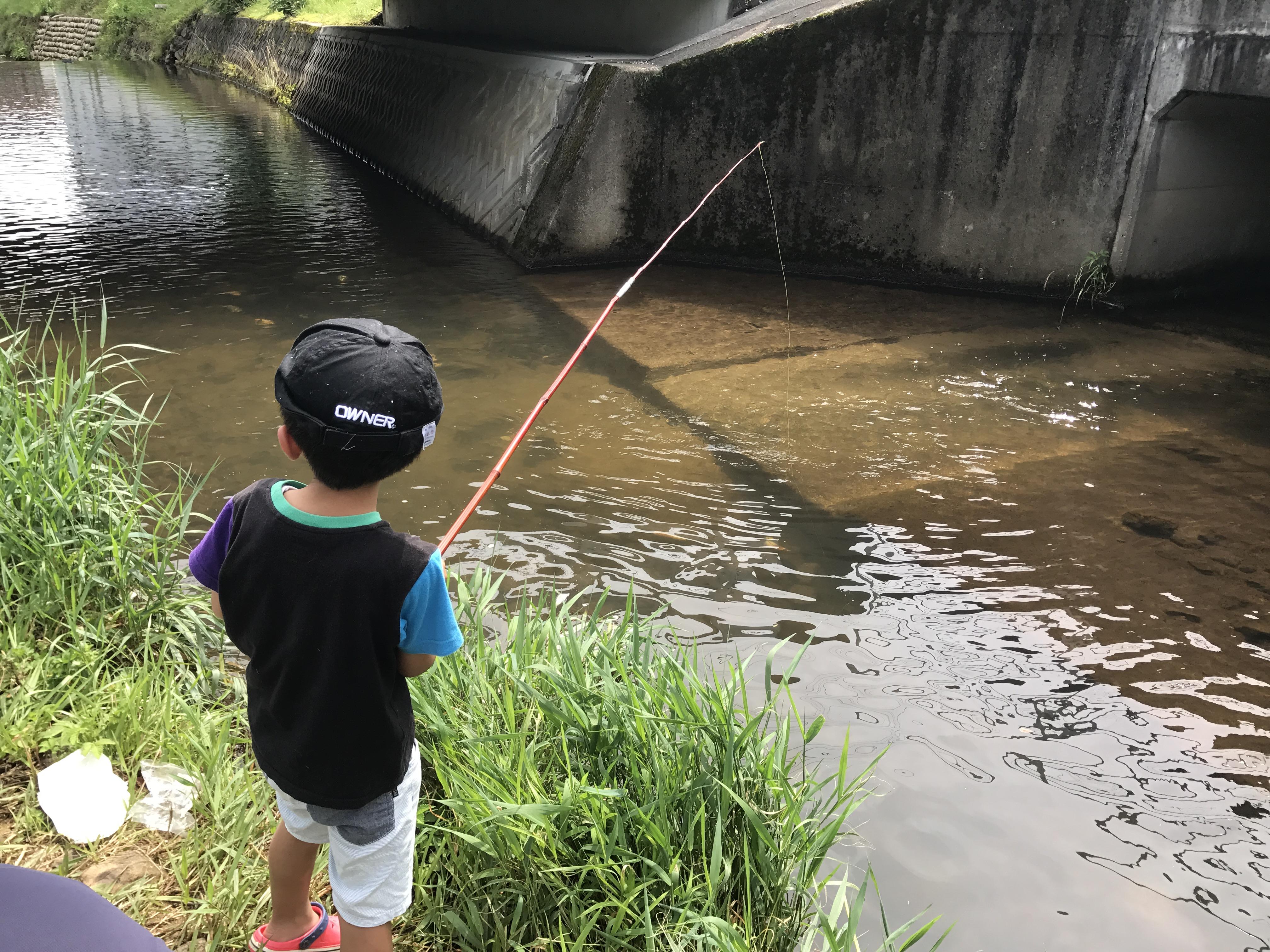 魚釣り 男の子